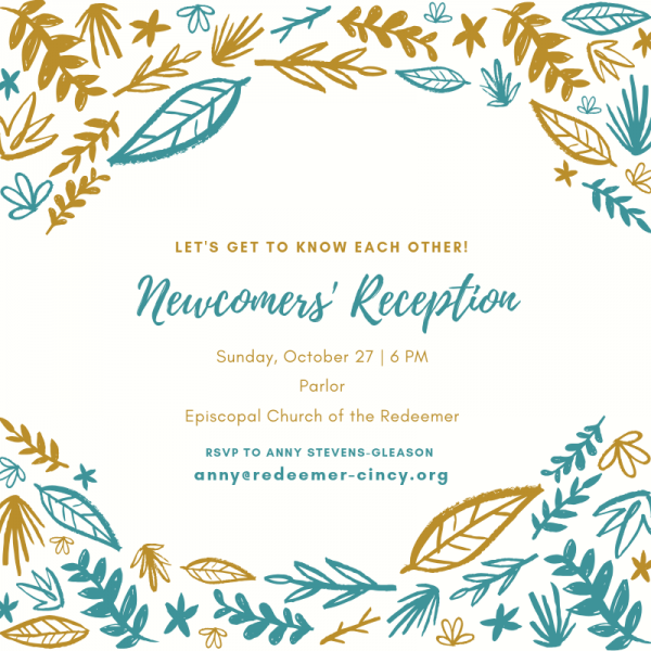 Newcomers' Reception
