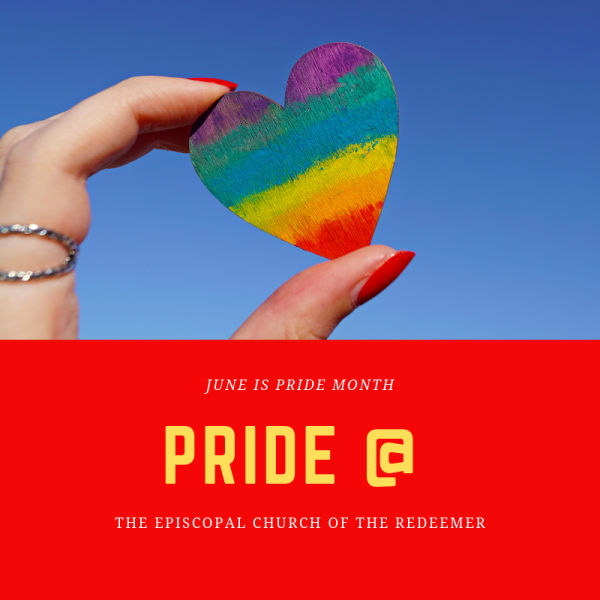 PRIDE Month @ Church of the Redeemer