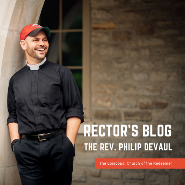 Rector's Blog: Bursting With Inspired Energy