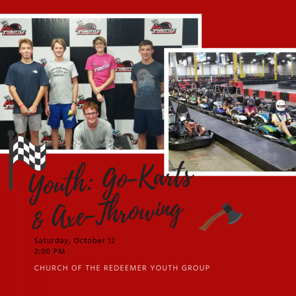 Youth Group: Go-Karts & Axe Throwing